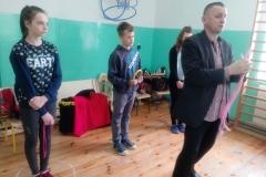 Klaun Walduś w naszej szkole