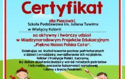 Więcej o: Certyfikat