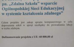 """Więcej o: Projekt Zdalna Szkoła"""""""